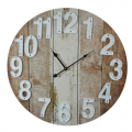Rustic Boards Clock 60cm