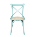 Cross Back Chair Arctic Blue