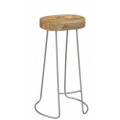 Tractor Stool Grey