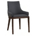 Dining Chair - PU Grey