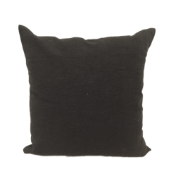 40cm Cushion Cover - Black