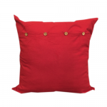 40cm Cushion Cover - Indian Red