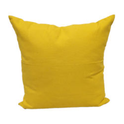 40cm Cushion Cover - Yellow