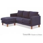 Teneriffe 3 Seater W/Chaise
