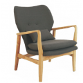 Lucca Chair Charcoal