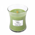 Woodwick Candle Medium - Bergamot & Basil