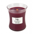 Woodwick Candle Medium - Black Cherry